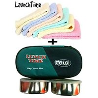 Lunch Box And 6 Towel Combo Offer