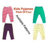 Kidley Kids Soft Cotton Pyjamas (Set Of 4)