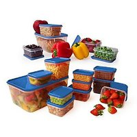 All Time Set Of 16 Pcs Storage Containers - Blue
