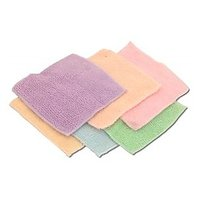 Set Of 6 Cotton Face Towels