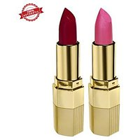 Blue Heaven Combo of 2  Xpression Lipstick (R 002  P 077)