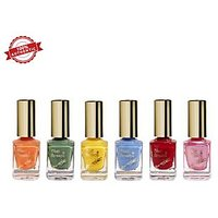 Blue Heaven Combo of 6 Xpression Nail Paint (903, 904, 905, 907, 913 & 928)