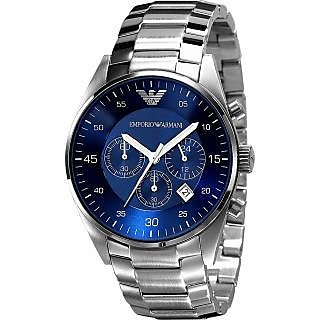 Emporio Armani Blue Dial Chronograph Watch For Men Ar5860 - 72542918