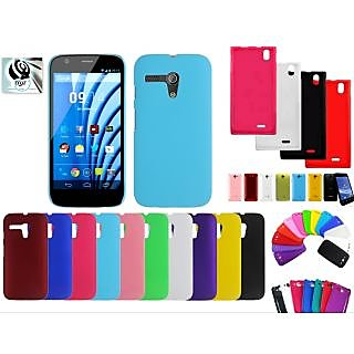 MJR Back Cover  Screen Guard Combo for Micromax A34 available at ShopClues for Rs.395