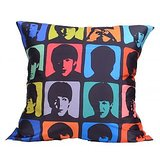 Colorfull Faces Cushion Covers Digitally Printed