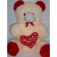 AGS 186  Teddy Bear,big Size 2 Feet , Valentine Gift Child, Birthday, Soft To