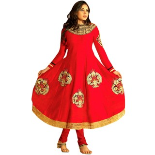 First Loot Trendy Floralpattern Embroidered Salwarkameez