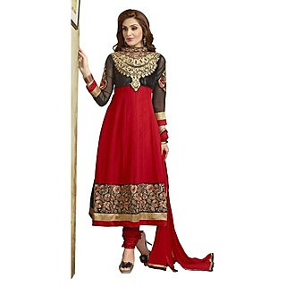 First Loot Majestic Embroidered Faux Georgette Anarkali