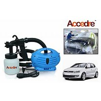 Accedre Paint Zoom Spray Gun With Motor Paint Bottle-Volkswagen Polo