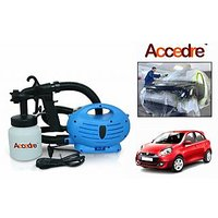 Accedre Paint Zoom Spray Gun With Motor Paint Bottle-Renault Pulse
