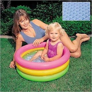 Inflatable Baby Pool Bath Water Tub For Kids