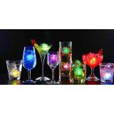Flashing Led Ice Cube For Party Set Of 4