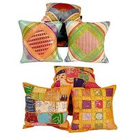 Buy Ethnic Cushion Covers & Get Cushion Cover Set Free
