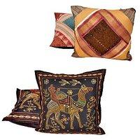 Buy Jaipuri Cushion Covers & Get Cushion Covers Free