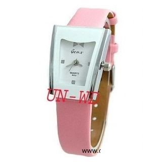 W39 - Gen-X Ladies PINK Watch Leather Strap