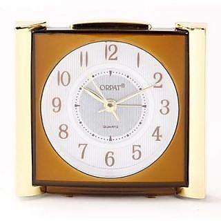 Orpat Tbzl-737 Analog Clock(Brown)