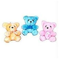 Set Of 3 Teddy Bears Soft Stuffed Toy Deal Gift