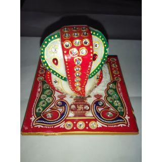Marble Chokhi Ganesh