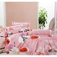 Surprise Double Bedsheet With Pillow Covers Le-Cs-021