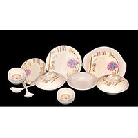 My Kitchen 32 Pcs Melamine Dinner Set Le-MYK-004- Suitcase Packing