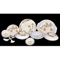 My Kitchen 32 Pcs Melamine Dinner Set Le-MYK-006 - Suitcase Packing