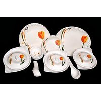 Lifestyle 40 Pcs Melamine Dinner Set Le-Pg-007