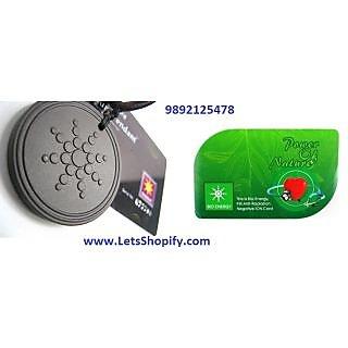 original scalar energy pendant and 2mm bio energy card