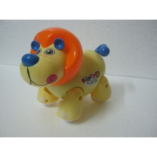 UNIQUE - BATTERY OPERATED COLORFUL HAPPY LION TOY - LIGHT MUSIC ACTION TOY