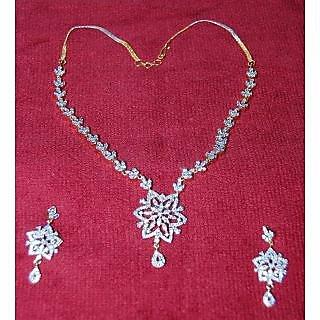 Bijou American Diamond Necklace #2