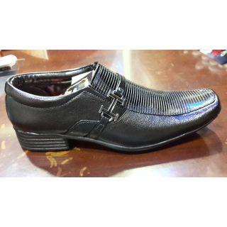 Udenchi Men's Party Wear Shoes Black
