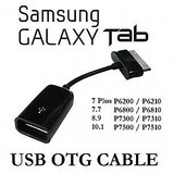 USB Female OTG Cable Adapter For Samsung Galaxy Tab 10.1/8.9/P7500/P7510 P6800 P6810 P310 P3100 P3110