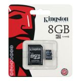 Kingston 8GB Mobile MicroSD Memory Card , SD Card Adapter Free