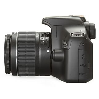 Canon EOS 1100D SLR (Black) with Kit (EF S18-55 IS II)