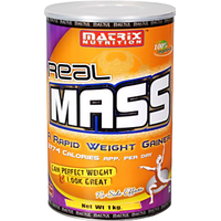 Matrix Nutrition Real Mass / 1 Kg  Chocolate
