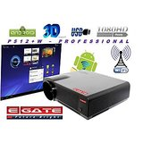 WIFI ANDROID EGATE P512+W 3500 LUMENS HD LED PROJECTOR - USB + HDMI + TV + MiSD