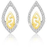 Sparkles Beautiful 18Kt Gold & Diamond Earrings Design (22)