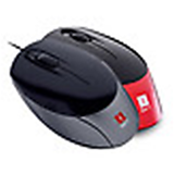 Brand New iBall Aero Dynamic Optical Mouse USB 2.0 Piano MRP: 475/- laptop