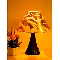 Tucasa Beautiful Table Lamp Golden Shade