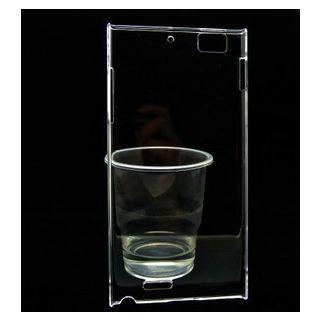 Clear Crystal Transparent Back Cover Case For Lenovo K900