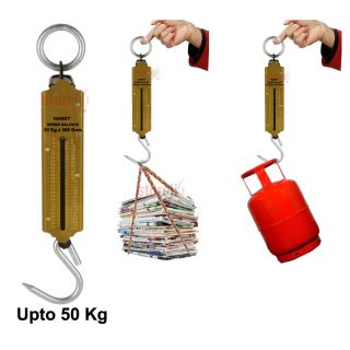 Handy Suspension Weighing Scale Machine   Upto 50 Kg Capacity available at ShopClues for Rs.170