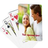 2 Set Photo Playing Cards - Personalized Customised Gift