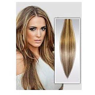 Women Multicolor Hair Highlighter Extension - 10 highligter pcs