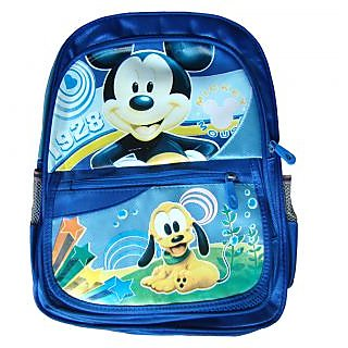 Kids School Bag for Nursery  - 3 to 7 Years - Dark Blue