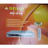Solid SD-912 DVB-S MPEG-2 Free To Air Satellite Receiver For DD Direct Plus Or Ku-Band And C-Band Satellite