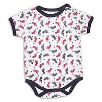 Short Sleeve Round Neck Bodysuit (6-12 Months)