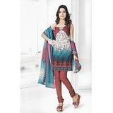 BURFI Dress Material Spun Cotton Designer Prints Unstitched Salwar Kameez Suit D.No B10005