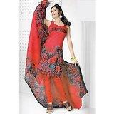 BURFI Dress Material Spun Cotton Designer Prints Unstitched Salwar Kameez Suit D.No B10006