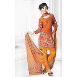 BURFI Dress Material Spun Cotton Designer Prints Unstitched Salwar Kameez Suit D.No B10019