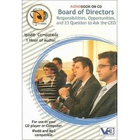 Audio Book On CD - Board of Directors