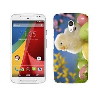 Trilmil Premium Design Back Cover Case for Motorola Moto G (2nd Gen) PRTMTG2A02143